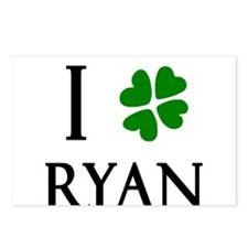 """I Heart/Luck Ryan"" Postcards (Package of 8)"