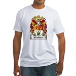 Abrahmsen Coat of Arms Fitted T-Shirt
