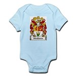 Abrahmsen Coat of Arms Infant Creeper