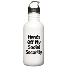 Social Security Water Bottle
