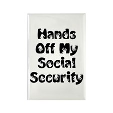 Social Security Rectangle Magnet (100 pack)
