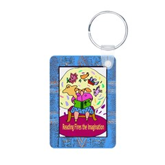 Imagination Aluminum Photo Keychain
