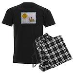 Watch for Ice Men's Dark Pajamas