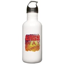 Gravity is a harsh mistress! Thermos Bottle (12oz)