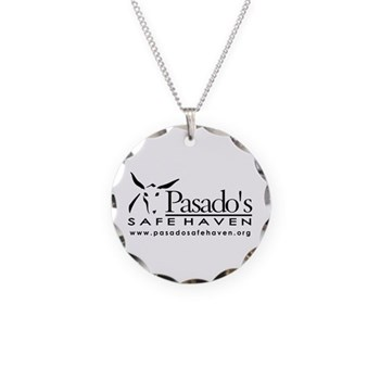 Necklace Circle Charm-LOGO