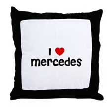 I * Mercedes Throw Pillow