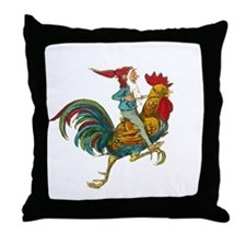 Vintage GNOME Throw Pillow