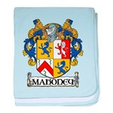 Mahoney Coat of Arms baby blanket
