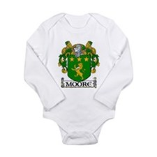 Moore Coat of Arms Long Sleeve Infant Bodysuit
