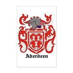 Aberdeen Coat of Arms Mini Poster Print