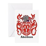 Aberdeen Coat of Arms Greeting Cards (Pk of 10