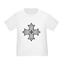 Coptic Cross BW T