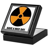 HAVE A NICE DAY. Keepsake Box