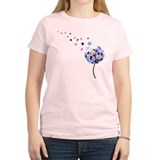 Blowing Dandelion Colorful T-Shirt