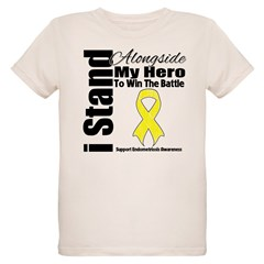 Endometriosis Stand Hero Organic Kids T-Shirt