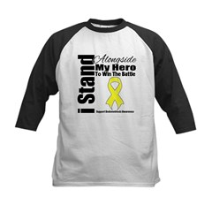 Endometriosis Stand Hero Kids Baseball Jersey