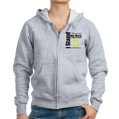 Endometriosis Stand Hero Women's Zip Hoodie