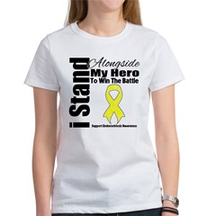 Endometriosis Stand Hero Women's T-Shirt