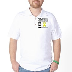 Endometriosis Stand Hero Golf Shirt