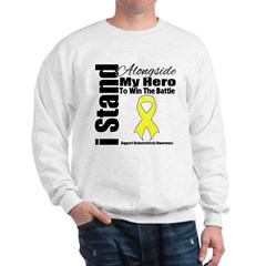 Endometriosis Stand Hero Sweatshirt