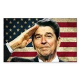 Reagan Salute... Bumper Stickers