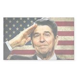 Reagan Salute... Decal