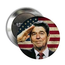 "Reagan Salute... 2.25"" Button (100 pack)"