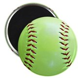 "Softball 2.25"" Magnet (100 pack)"