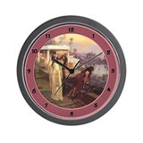 Orientalist art Wall Clock
