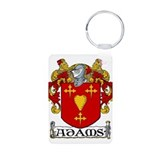 Adams Coat of Arms Aluminum Photo Keychain