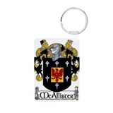 McAllister Coat of Arms Aluminum Photo Keychain