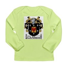 McAllister Coat of Arms Long Sleeve Infant T-Shirt
