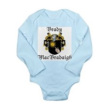 Brady in Irish/English Long Sleeve Infant Bodysuit