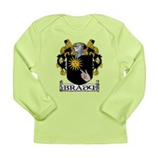 Brady Coat of Arms Long Sleeve Infant T-Shirt
