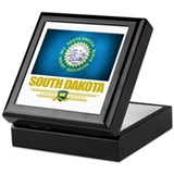 South Dakota Pride Keepsake Box