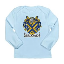 Brogan Coat of Arms Long Sleeve Infant T-Shirt