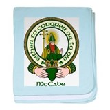 McCabe Clan Motto baby blanket