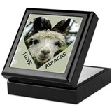 Alpacas Keepsake Box