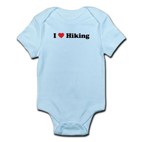 I Love Hiking Infant Bodysuit