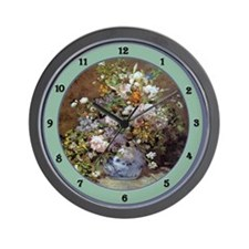 Cute Painters Wall Clock