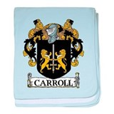 Carroll Coat of Arms baby blanket