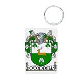 O'Connell Coat of Arms Aluminum Photo Keychain