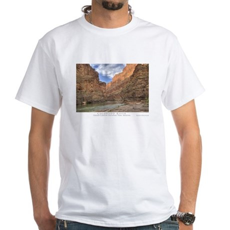 Colorado River - Grand Canyon White T-Shirt