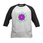 Flowers Kids Baseball Jersey