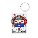 Delaney Coat of Arms Aluminum Photo Keychain