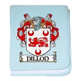 Dillon Coat of Arms baby blanket