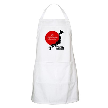 Japan Earthquake Relief Apron