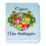 Egan in Irish & English baby blanket