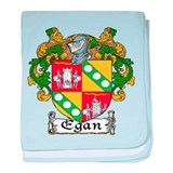 Egan Coat of Arms baby blanket