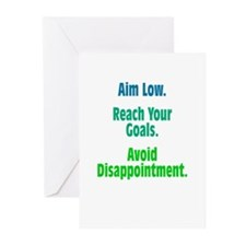 Avoid Disappointment Greeting Cards (Pk of 10)